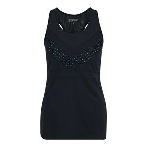 ESPRIT SPORT Funkční tričko  námořnická modř