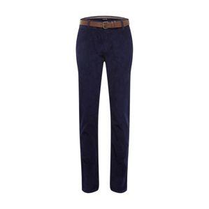 Review Chino kalhoty  námořnická modř