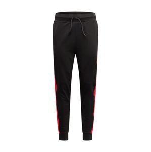 HUGO Kalhoty 'Devry'  světle červená / černá