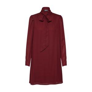 Fashion Union Košilové šaty 'KHOSLA'  merlot