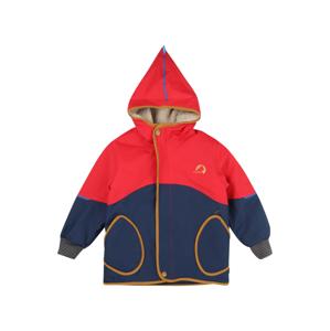 FINKID Přechodná bunda  velbloudí / červená / marine modrá