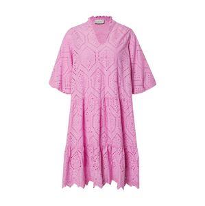 Neo Noir Košilové šaty 'Kiko Embroidery'  magenta