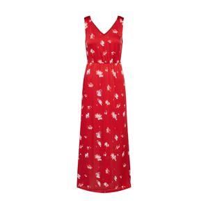 ONLY Letní šaty  červená / bílá