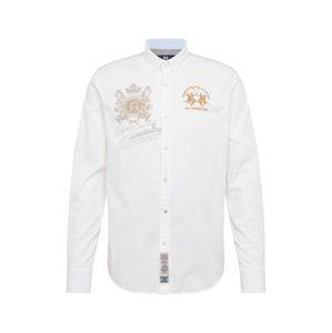 La Martina Košile  bílá