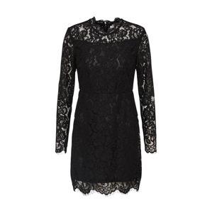 Mel Ivy Koktejlové šaty  černá