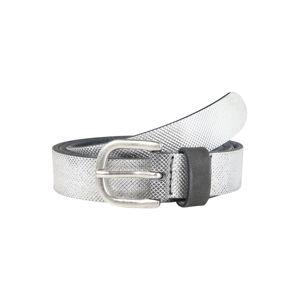 ESPRIT Opasek 'EmbossedBelt'  stříbrně šedá