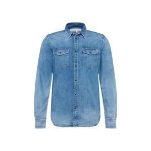 Pepe Jeans Košile 'HAMMOND'  modrá džínovina