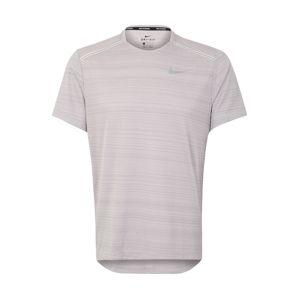 NIKE Funkční tričko 'Dry-Miler'  světle šedá