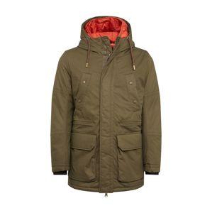 TOM TAILOR Zimní bunda  olivová