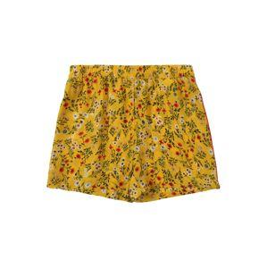 KIDS ONLY Kalhoty 'AGNES'  tmavě žlutá / mix barev