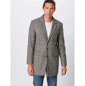 Lindbergh Přechodný kabát 'Checked coat'  šedá