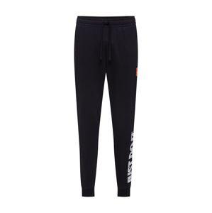 Nike Sportswear Kalhoty 'JDI+ PANT FLC MIX'  bílá / černá