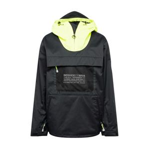 DC Shoes Outdoorová bunda 'Asap'  černá / svítivě žlutá / bílá