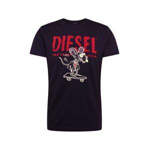 DIESEL Tričko 'CL-T-DIEGO-1'  černá