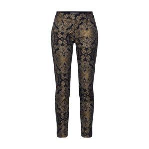 MOS MOSH Kalhoty 'Abbey Miramare'  zlatá / černá