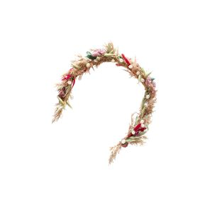 We Are Flowergirls Šperky do vlasů 'Zora'  béžová / vínově červená