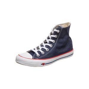 CONVERSE Kotníkové tenisky 'Chuck Taylor All Star'  modrá džínovina / červená / bílá