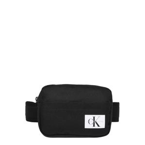 Calvin Klein Jeans Taška  černá / bílá