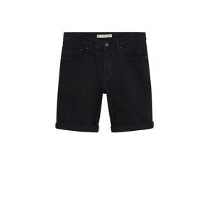 MANGO MAN Kalhoty  černá