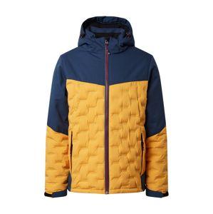 KILLTEC Funkční bunda 'Skane'  žlutá / námořnická modř