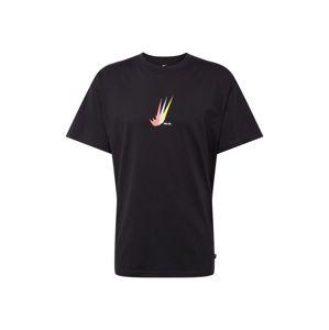 Nike SB Tričko  světlemodrá / světle žlutá / černá / růžová