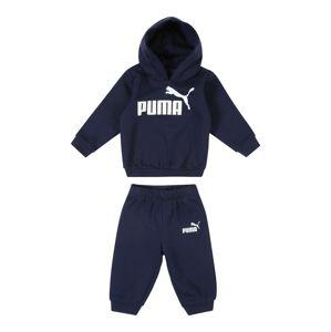 PUMA Joggingová souprava 'Minicats No. 1'  námořnická modř / bílá