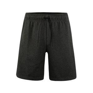 ADIDAS PERFORMANCE Sportovní kalhoty 'MHE'  černý melír / bílá