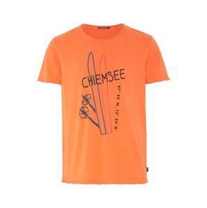 CHIEMSEE Funkční tričko 'HIMALCHULI'  oranžová / černá / modrá / pink