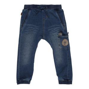 NAME IT Kalhoty 'Bob'  modrá džínovina / hnědá