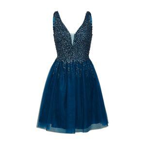 Unique Koktejlové šaty  tmavě modrá / petrolejová