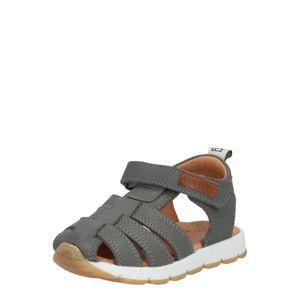 BISGAARD Otevřená obuv  šedá