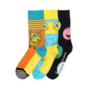 Happy Socks Ponožky 'Sponge Bob'  žlutá / mix barev