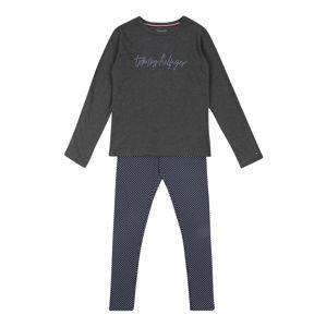 Tommy Hilfiger Underwear Prádlo-souprava 'Signature'  námořnická modř / světle šedá