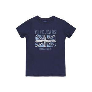 Pepe Jeans Tričko 'ANTON'  noční modrá