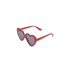 MANGO KIDS Sluneční brýle 'Heart'  červená / šedý melír