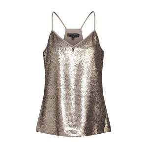 Banana Republic Top 'SL RACERBACK SEQUIN CAMI'  zlatá