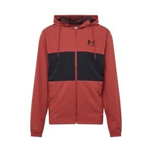 UNDER ARMOUR Sportovní bunda  červená / černá