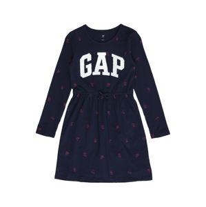 GAP Šaty 'V-Flip'  námořnická modř / fialová
