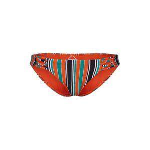 BILLABONG Spodní díl plavek  černá / oranžová / zelená