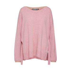 81HOURS Maxi svetr  růžová