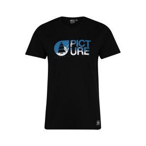 Picture Organic Clothing Funkční tričko 'BASEMENT LOFOTEN'  modrá / černá