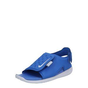 Nike Sportswear Otevřená obuv 'Sunray Adjust 5'  modrá / šedá