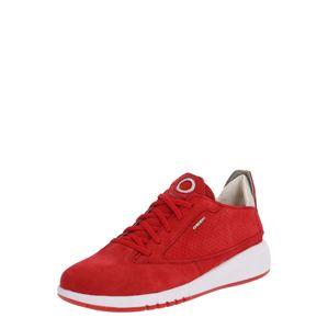 GEOX Tenisky 'AERANTIS'  červená / bílá
