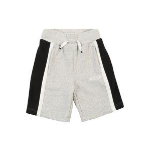 Nike Sportswear Kalhoty 'AIR'  šedá / černá