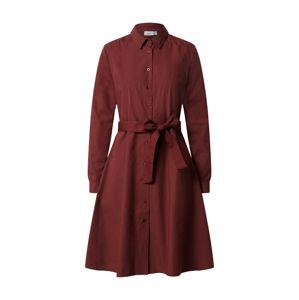 ICHI Košilové šaty 'Sarah'  bordó