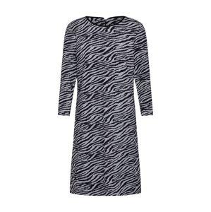 MORE & MORE Šaty  stříbrně šedá / šedý melír