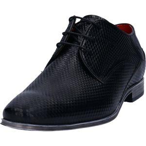 bugatti Šněrovací boty  černá