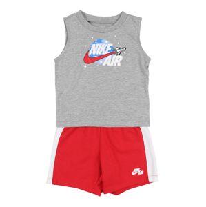 Nike Sportswear Sada  červená / šedá / bílá