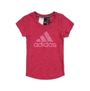 ADIDAS PERFORMANCE Funkční tričko  pink / bílá