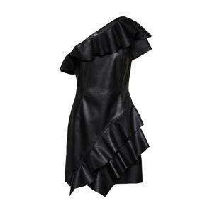 IVYREVEL Koktejlové šaty 'VANA '  černá